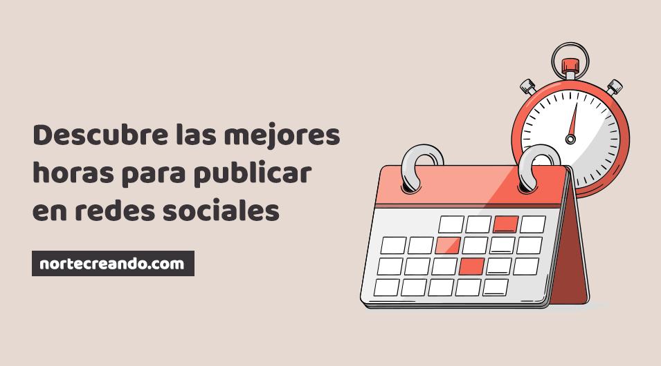 Las mejores horas para publicar en redes sociales